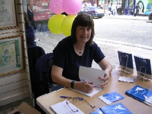 Book Signing in Hanley Charity Shop