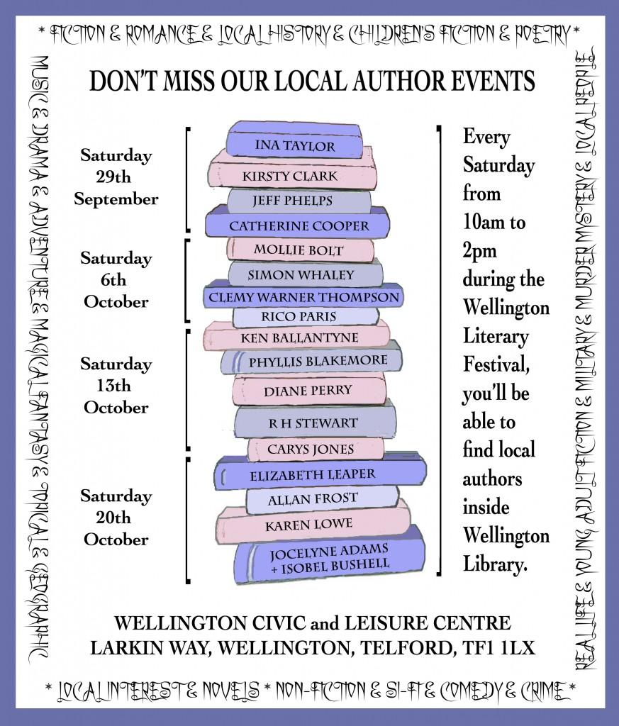 Wellington Literary Festival Poster